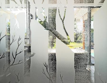 Etched Glass Brisbane 1