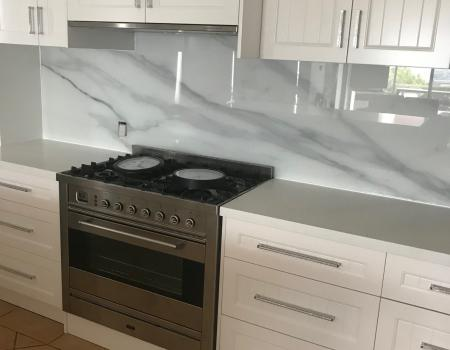 Marble Kitchen Splashback Brisbane 3
